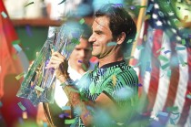 Federer Rebut Gelar Kelima di Indian Wells