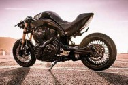 Yamaha MT-01 Golden Bull Garapan Kekedesign