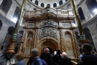 Jesus's Tomb Restored After Months of Work