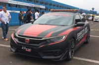 Civic Turbo Didaulat jadi <i>Official Safety Car</i> di ISSOM 2017