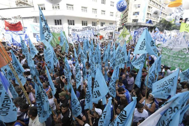 Argentina Faces General Strike from Workers