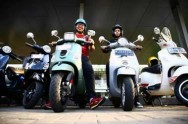 Piaggio Indonesia Gelar Event Unik #ColorsofVespa