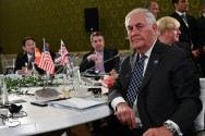 Tillerson Says No Place for Assad in Syria's future