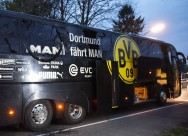 Blasts Hit Dortmund Team Bus, Hurting Player