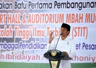 Jokowi Visits Buntet Islamic Boarding School