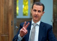 Syria's Assad Says Chemical Attack