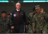 US VP Pence Warns N. Korea