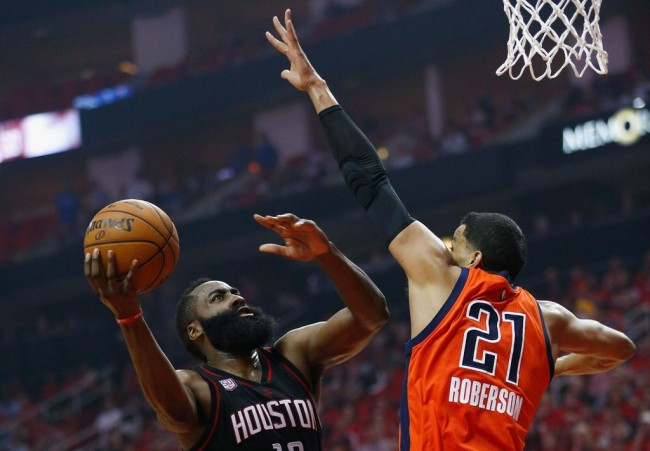 James Harden Bawa Rockets Libas Thunder