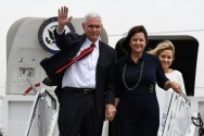 Pence Reassures Japan As North Korea Threatens