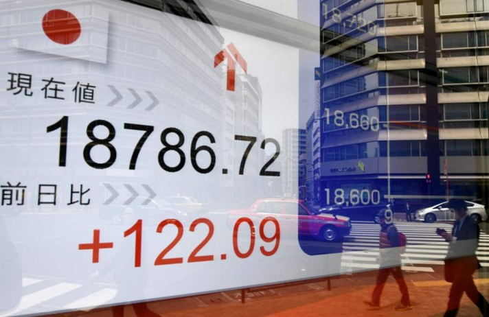 Tokyo Stocks Open Lower After British Snap Election News