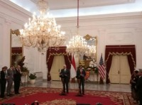 Jokowi Welcomes US Vice President