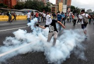 New Venezuela Protest Clashes Follow Deadly Unrest