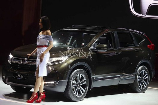 All New Honda CR-V Diluncurkan