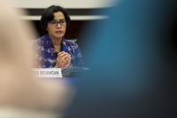 Pertemuan IMF-World Bank, Indonesia Ditanggapi Positif