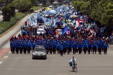 Police to Secure May Day Rally