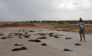 Route to Raqa Dotted With Discarded Veils, Burned Cars