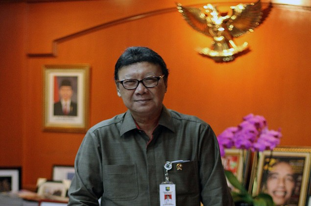 Home Affairs Minister Suspends Ahok