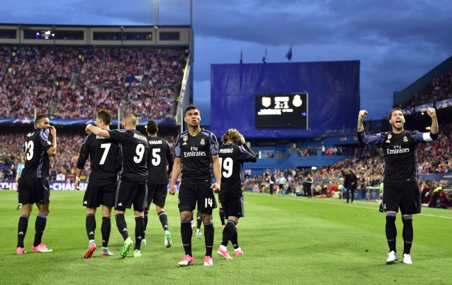 Real Madrid Jumpa Juventus di Final Liga Champions 2016--2017