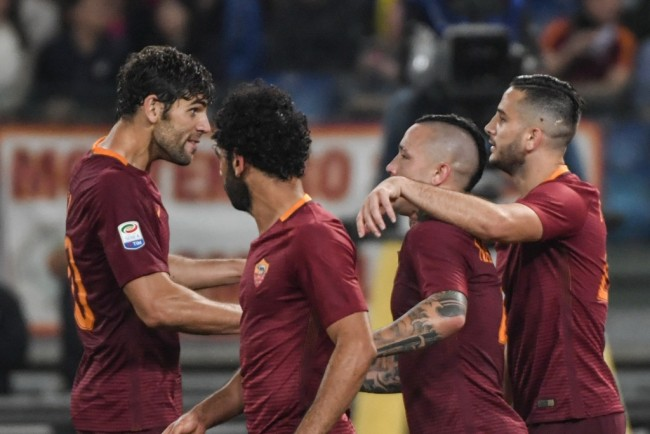 AS Roma Tunda Pesta Juara Juventus