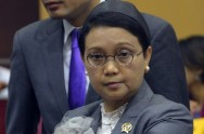 FM Retno Meets With Hungarian Foreign Minister in Beijing