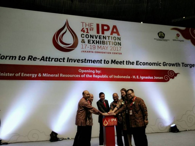 Energy Minister Opens 2017 IPA Convex
