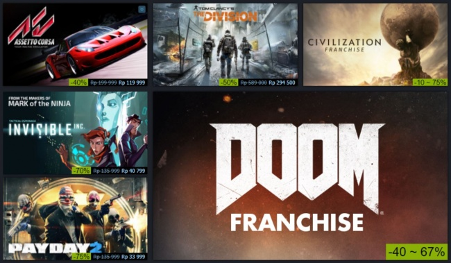 Steam Summer Sale Digelar Akhir Juni?