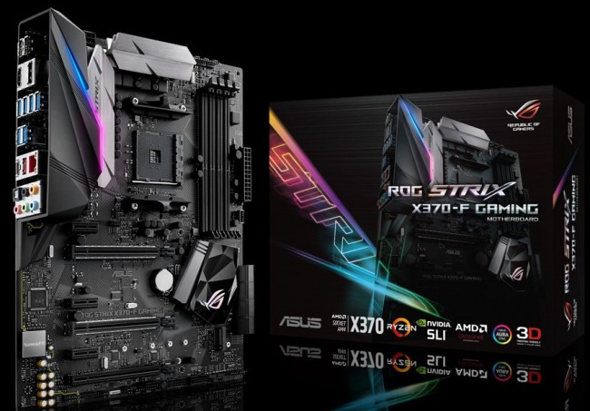 ROG STRIX X370-F Gaming, Motherboard AM4 Premium dari ASUS