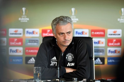 Pelatih Manchester United, Jose Mourinho. (AFP PHOTO / Paul ELLIS)