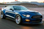 Shelby Widebody Super Snake Concept, Mengaspal