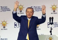 Turkey Ruling Party Elects Erdogan As Chairman After Referendum Win