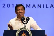 Philippines' Duterte Heads to Russia in Blow to US