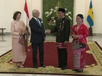 Jokowi Welcomes Swedish King at Bogor Palace