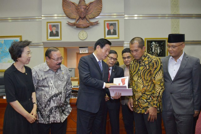 Indonesian & Chinese Lawmakers Discuss Cyber Security Issues