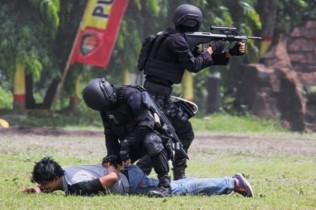 Two Terror Suspects Arrested in Cipayung