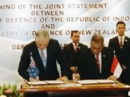 RI & NZ Agree Closer Military Cooperation