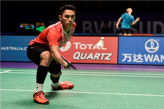 Jonatan Christie Tembus Final Thailand Open 2017