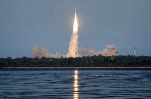 India Shows Off Space Prowess With Launch of Mega Rocket