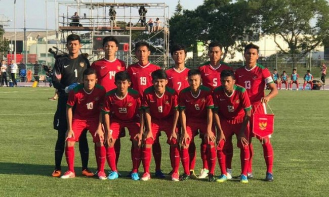 Indonesia U19 Tanpa Poin di Toulon Tournament 2017