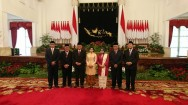 DKPP Members Inaugurated at State Palace