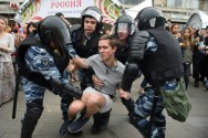 Hundreds Detained As Navalny Supporters Protest Across Russia