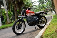 Yamaha Scorpio 2012, Dirt Tracker Anti Bulat