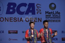Owi/Butet Juara Indonesia Open 2017