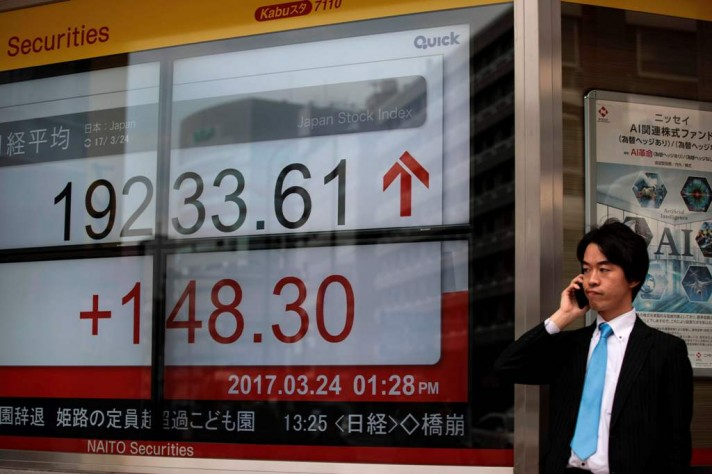 Tokyo Stock Open Higher Following Record Closes on Wall Street
