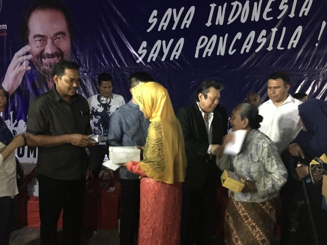 Media Group dan GMI Land Buka Bersama 1.000 Yatim dan Duafa