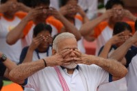 Yoga Connecting World, Says Modi As Millions Celebrate