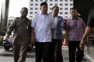 Bengkulu Governor Named As Bribery Suspect