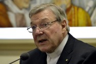 Pope Backs Australian Cardinal in Fight Against Sex Abuse Charges