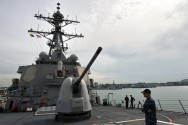 China Slams US Warship Move As Xi, Trump Talk