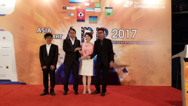 Tim Indonesia Sabet Penghargaan di Asia Smart App Award