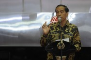 Jokowi Visits Indonesia Stock Exchange